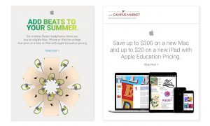 Campus Advertising for Apple